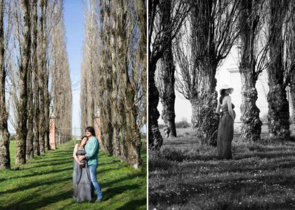 Foto artistiche donne in gravidanza
