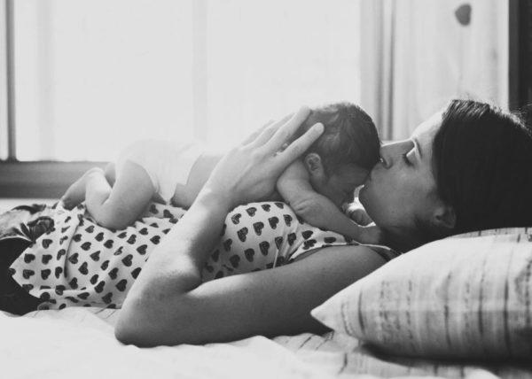 Foto bambino appena nato
