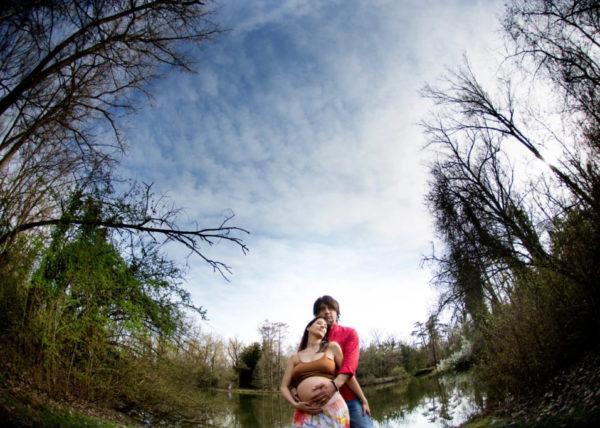 Foto di coppia in gravidanza