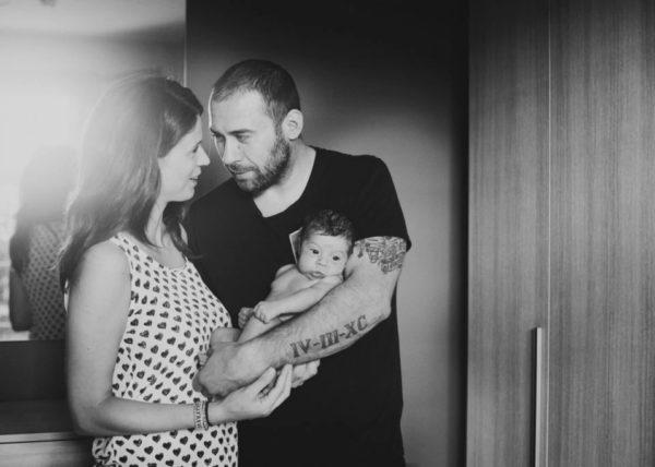 Foto neonati appena nati