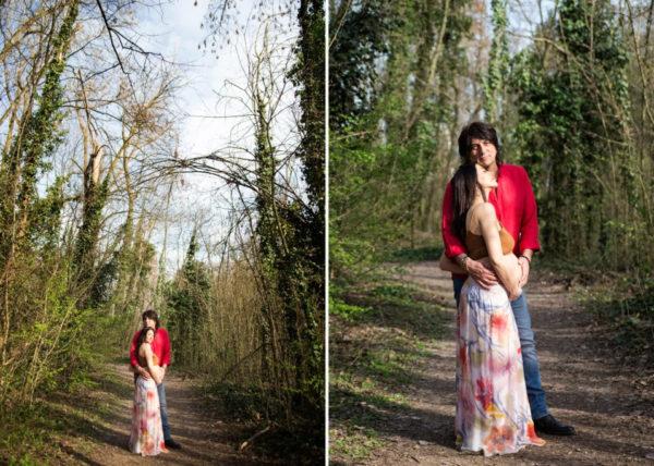 Foto della pancia incinta