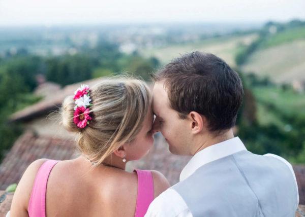 Fotografa per shooting fotografico della coppia