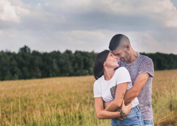 Servizio fotografico di fidanzati