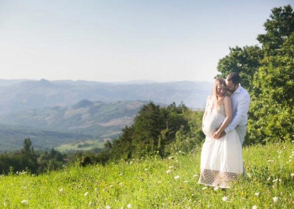 Servizio fotografico della gravidanza