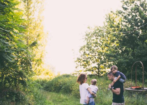 Servizio fotografico professionael di famiglia